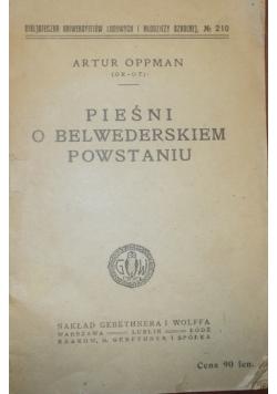 Pieśń o Belwederskim powstaniu, 1918r