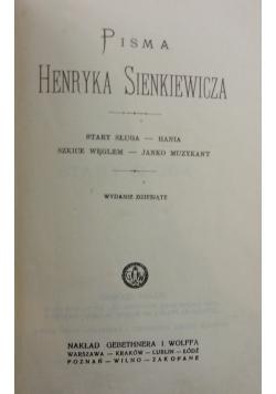 Stary sługa-Hania, Szkice węglem-Janko Muzykant