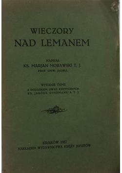 Wieczory nad Lemanem, wydanie 8, 1927r.