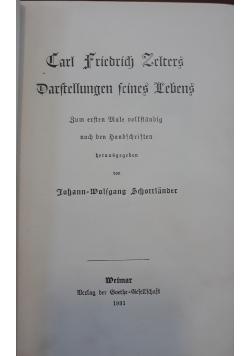 Parftellungen feines Lebens, 1931 r.