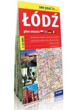 See you! in... Łódź - plan miasta 1:22 000