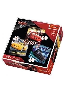 Puzzle 3w1 Legendy wyścigu TREFL