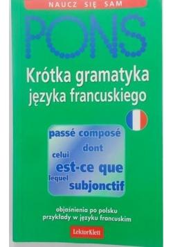 Krótka gramatyka języka francuskiego