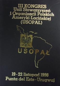III kongres Unii Stowarzyszeń i Organizacji Polskich Ameryki Łacińskiej (Usopał)