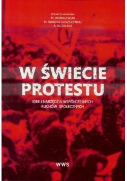 W świecie protestu