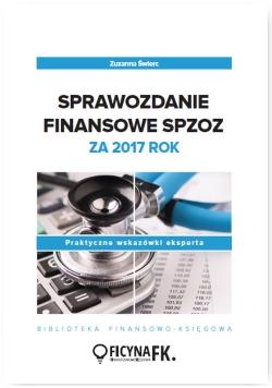 Sprawozdanie finansowe SPZOZ za 2017 rok