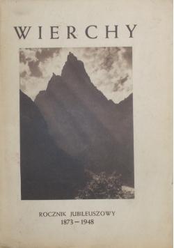 Wierchy - rocznik jubileuszowy 1873-1948, 1948r.