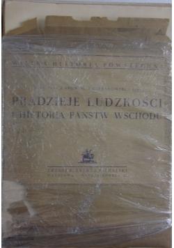 Pradzieje ludzkości i historia państw wschodu, 1935r.