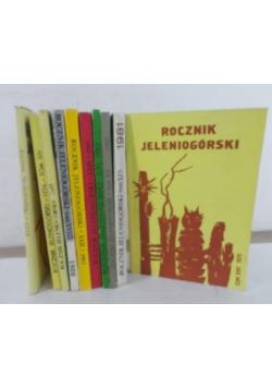 Rocznik jeleniogórski - 1973,1975-76,1979-1985