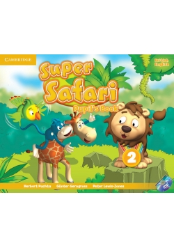 Super Safari 2 Pupil's Book + DVD