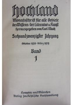 Hochlnnd 1929 r.