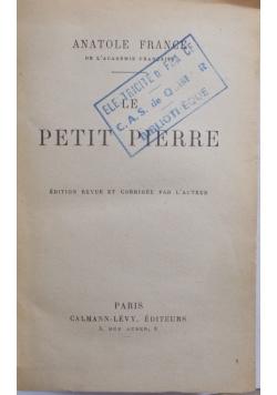 Le petit Pierre, 1919 r.