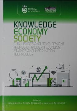 Knowledge economy society