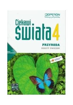 Gajewska Małgorzata - Ciekawi świata. Przyroda 4. Zeszyt ćwiczeń