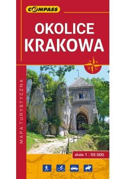 Okolice Krakowa 1:55000