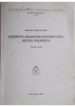 Elementy gramatyki historycznej języka polskiego