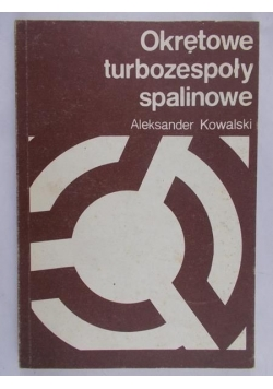 Okrętowe turbozespoły spalinowe