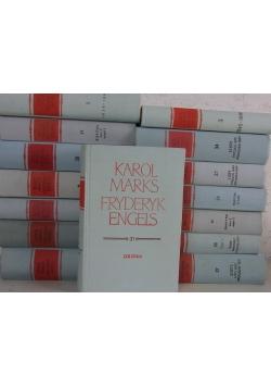 Karol Marks/ Engels Dzieła  15 tomów