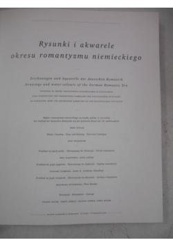 Rysunki i akwarele okresu romantyzmu niemieckiego