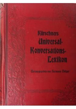 Kurschners universal=konversations=lexikon, 1906 r.
