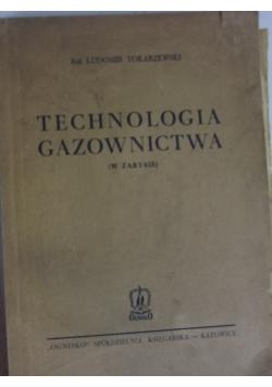 Technologia gazownictwa, 1949r.