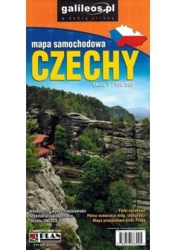 Mapa samochodowa - Czechy 1:500 000