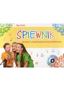 Śpiewnik dla dzieci z niepełnosprawnością intelektualną + CD