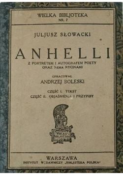 Anhelli, 1922 r.