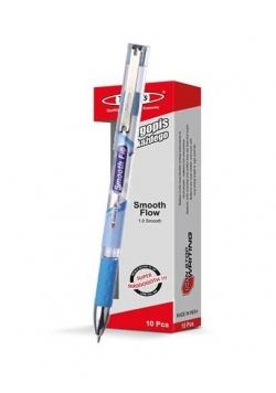Długopis Smooth Flow niebieski (10szt) NOSTER