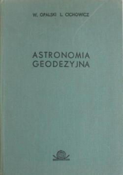 Astronomia geodezyjna