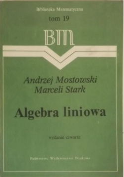 Algebra liniowa