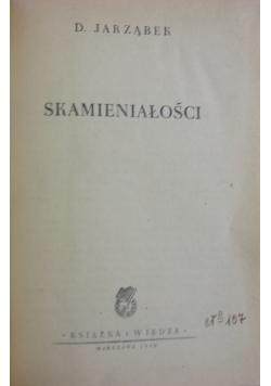 Skamieniałości, 1950 r.