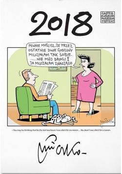 Kalendarz 2018 Wieloplanszowy A. Mleczko MDR