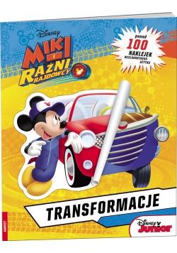 Miki i  Raźni Rajdowcy Transformacje