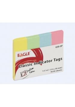 Notes samoprzylepny 20x50 zakładka 652-5P EAGLE