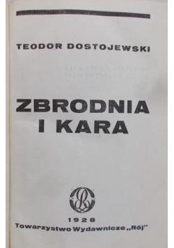 Zbrodnia i kara, 1928 r.