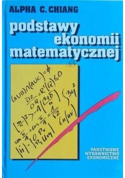 Podstawy ekonomii matematycznej
