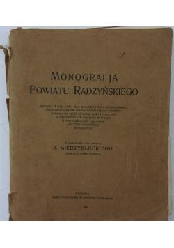 Monografja powiatu Radzyńskiego, 1930 r.