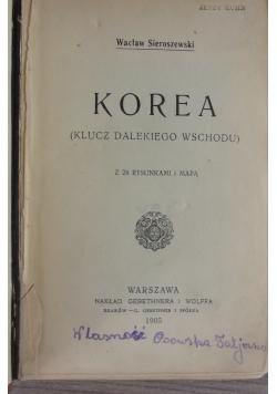 Korea (klucz dalekiego wschodu), 1905 r.