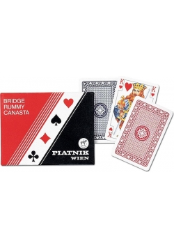Karty standard 2 talie PIATNIK