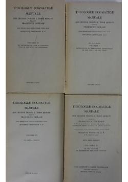 Theologiae Dogmaticae Manuale, tom I-IV, ok 1950r.