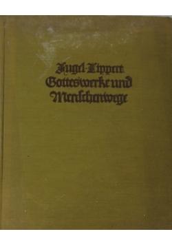 Goethesmerte und menschenmenge, 1924 r.