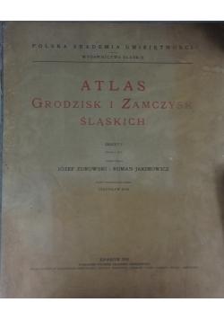 Atlas grodzisk i zamczysk Śląskich, 1939r.