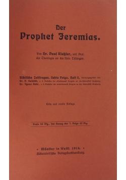 Der Prophet Jeremias ,1914r.