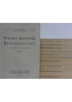 Polski słownik biograficzny,zestaw 8 książek
