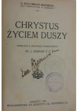 Chrystus życiem duszy. 1921 r.