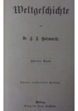 Weltgeschichte , 1885r.