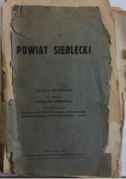 Powiat Siedlecki , 1935r.