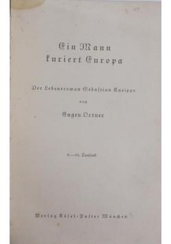 Gin Mann turiert Europa,1938r.