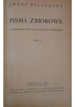 Pisma zbiorowe, tom I, wydanie I,  1937 r.